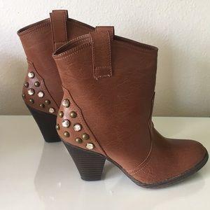 Mia western booties